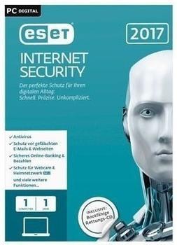 ESET Internet Security 2017 (1 Gerät) (1 Jahr) (ESD)