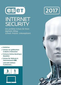ESET Internet Security 2017 (3 Geräte) (1 Jahr) (ESD)