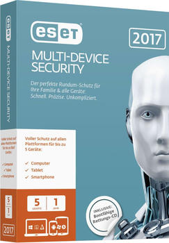 ESET Multi Device Security 2017 (DE) (5 Geräte) (1 Jahr) (ESD)