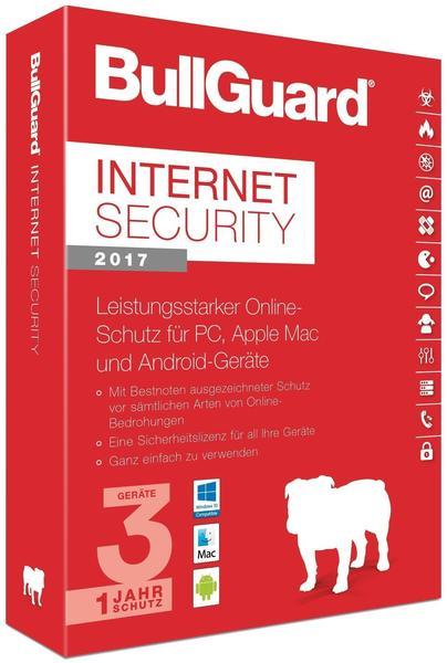 BullGuard Internet Security 2017 (3 Geräte) (1 Jahr) (ESD)