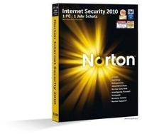 Symantec Norton Internet Security 2010 Vollversion, 1 User, deutsch