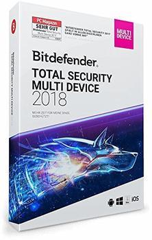 Bitdefender Internet Security 2018 10 Geräte 3 Jahre ESD DE Win Mac Android iOS