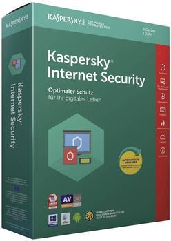 Kaspersky Internet Security 2018 (3 Geräte) (1 Jahr) (Box)
