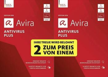 Avira AntiVirus Plus 2018 Special Edition (2 Geräte) (1 Jahr) (DE) (Box)