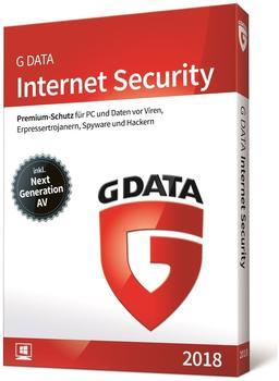 G Data Internet Security 2018 (3 Geräte) (1 Jahr)