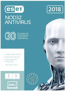 ESET NOD32 Antivirus 2018 (1 Gerät) (1 Jahr) (FFP)