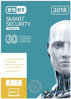 ESET Smart Security 2018 Premium (3 Geräte) (1 Jahr) (FFP)