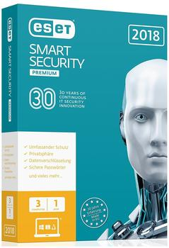 ESET Smart Security 2018 Premium (3 Geräte) (1 Jahr) (Box)