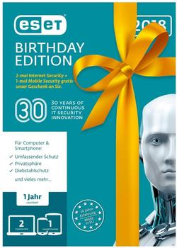 ESET Internet Security - Birthday Edition (3 Geräte) (1 Jahr) (Box)