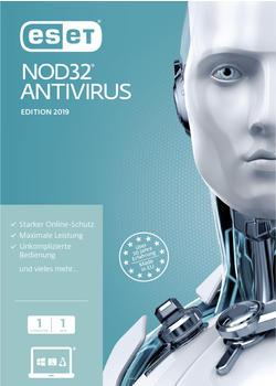 Eset NOD32 Antivirus 2017 DE (1U-1Y)