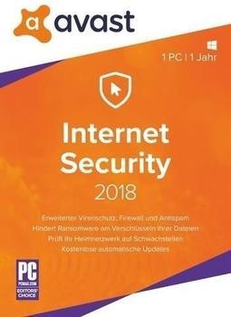 S A D Software AVAST Internet Security 2018 DE Win