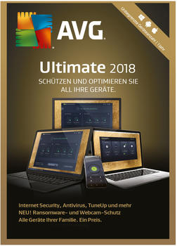 AVG Ultimate 2018 Special Edition DE Win Mac Android