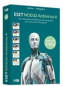 ESET NOD32 4 (3 User) (DE) (Win)