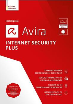 Avira Internet Security Plus 2018 (4 Geräte) (2 Jahre) (DE) (ESD)