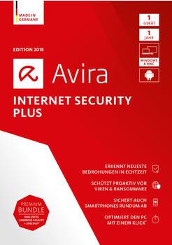 Avira Internet Security Plus 2018 (4 Geräte) (3 Jahre) (DE) (ESD)