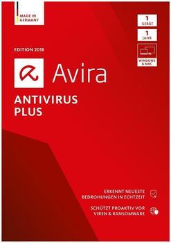 Avira AntiVirus Plus 2018 (1 Gerät) (1 Jahr) (DE) (ESD)