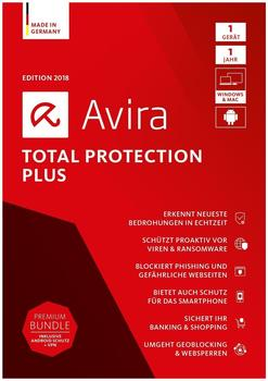 Avira Total Protection Plus 2018 (3 Geräte) (2 Jahre) (DE) (ESD)