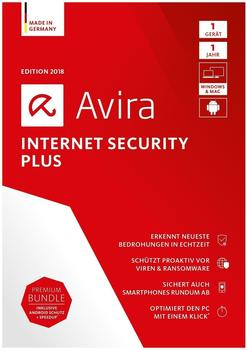 Avira Internet Security Plus 2018 (2 Geräte) (2 Jahre) (DE) (ESD)