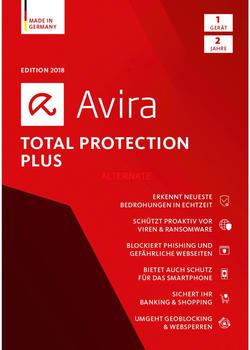 Avira Total Protection Plus 2018 (1 Gerät) (2 Jahre) (DE) (ESD)