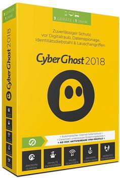 S.A.D. CyberGhost 2018 (3 Geräte)