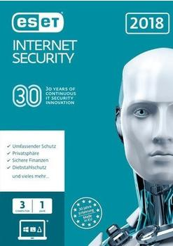 ESET Internet Security 2018 (3 Geräte) (1 Jahr) (ESD)