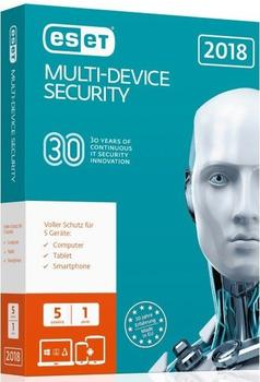 ESET Multi-Device Security 2018 (5 Geräte) (1 Jahre) (ESD)