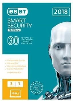 ESET Smart Security 2018 Premium (3 Geräte) (1 Jahr) (ESD)