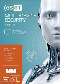 Eset Multi-Device Security 2019 Sicherheit-Software 1 Jahr Frustfreie Verpackung