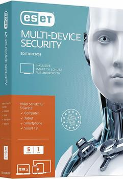 Eset Multi-Device Security 2019 Sicherheit-Software 1 Jahr Mini-Box