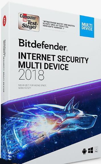 Bitdefender Internet Security 2019 (5 Geräte) (1 Jahr)