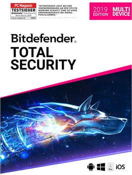 Bitdefender Total Security 2019 (3 Geräte) (1,5 Jahre)