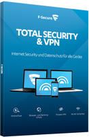 F-Secure Vollversion Total Security 2019