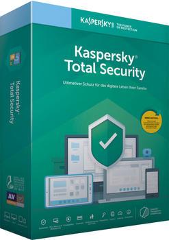 Kaspersky Lab Kaspersky 2019 Total Security, Vollversion, Deutsch, Windows/Mac/Android/iOS, Download-Software