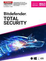 Bitdefender Total Security Multi Device Vollversion ESD 5 Geräte 2 Jahre ( Download ) (2019)