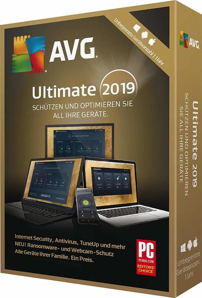 S A D Software AVG Ultimate 2019, 1 DVD-ROM