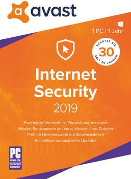 AVG Avast Internet Security 2019 1pc1 Jah