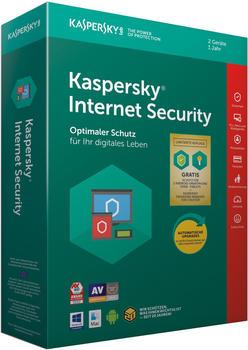 Kaspersky Lab Internet Security 2019 2 Geräte DE Win Mac Android iOS