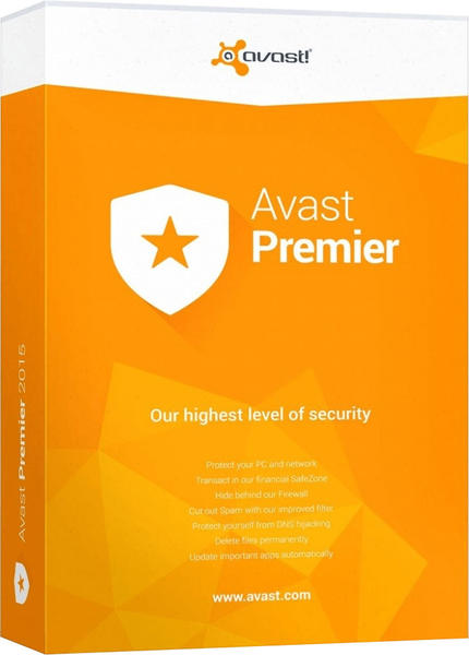 avast! Avast Premier 2019 Vollversion