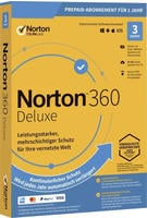 Symantec Norton 360 DELUXE 25GB GE 1 USER 3 DEVICE 12MO Jahreslizenz, 3 Lizenzen Windows, Mac, Andr