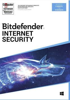 Bitdefender Internet Security (5 Geräte) (18 Monate)