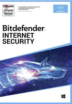Bitdefender Internet Security (3 Geräte) (18 Monate)