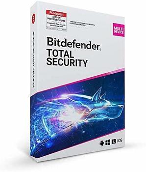 Bitdefender Total Security 2020 5 Lizenzen Windows, Mac, Android, iOS Antivirus, Sicher