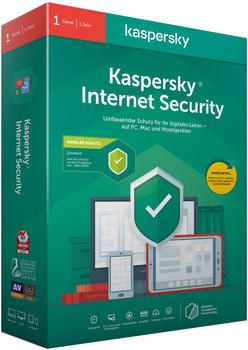 Kaspersky Internet Security 2020 (5 Geräte) (1 Jahr) (Download)