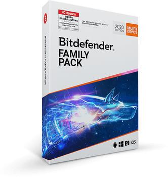 Bitdefender Family Pack (15 Geräte) (3 Jahre)