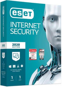 ESET Internet Security 2020 (1 Gerät) (1 Jahr)