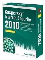 Kaspersky Internet Security 2010 Minibox Vollversion, 3 User, deutsch, CD