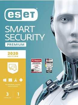 Eset Smart Security Premium 2021 3 Geräte 1 Jahr