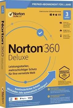 Norton 360 Deluxe 2021 - 3 Geräte (1 Jahr)