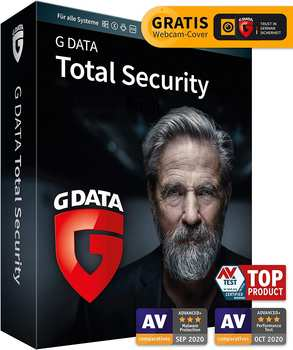 G Data Total Security 2021 1 Gerät 1 Jahr
