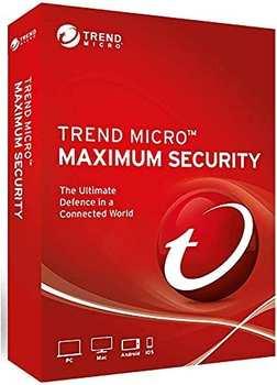 Trend Micro Maximum Security 2021 5 Geräte 3 Jahre